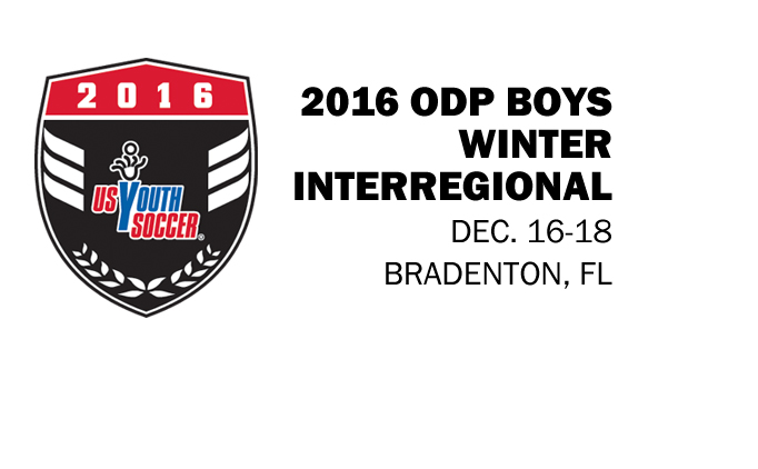 2016 ODP Boys Winter Interregional
